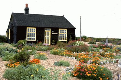 Cottage by the sea in Kent of the late Derek Jarman that became famous for its garden.