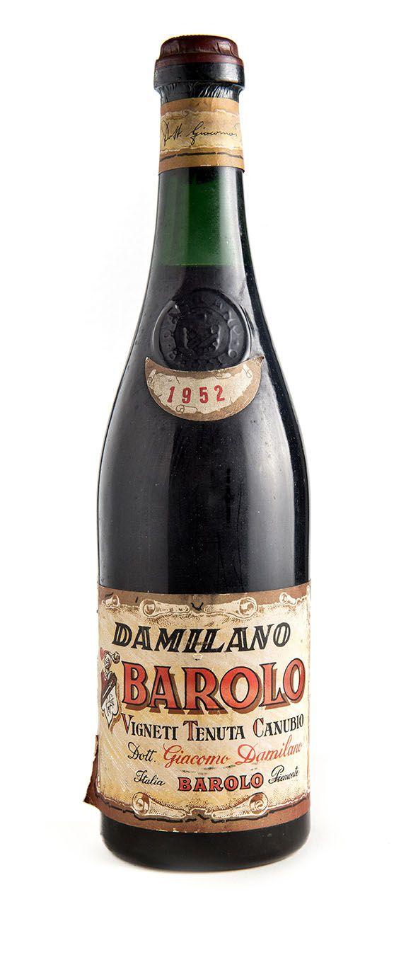 Bottiglie Storiche : Barolo 1952 - Damilano