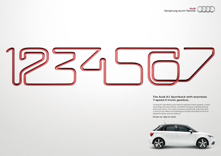 S tronic - Audi A1 print ad