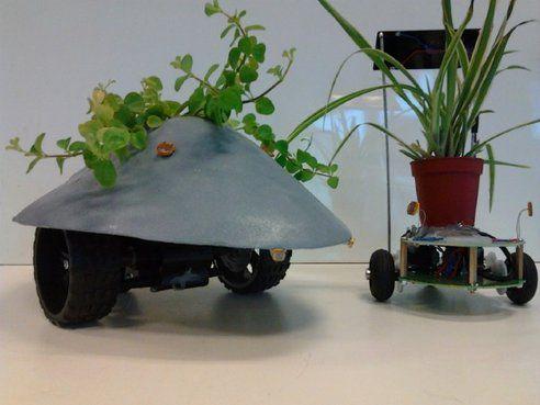 Robotic Plant Drone Moves Houseplants to Sunny Spots | grepScience.com