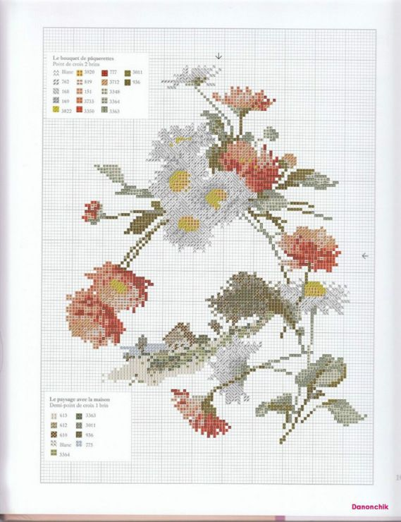 Gallery.ru / Фото #56 - Herbier au point de croix - simplehard