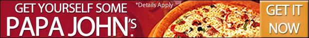Get Free $100 Papa Johns Pizza Gift Card http://samplestuffbymail.com/100-papa-johns-pizza-gift-card/