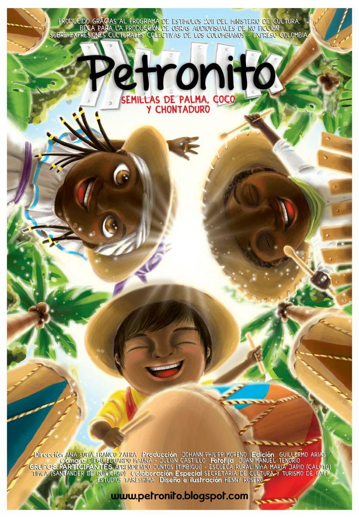"""Documental Publicado por Trabalenguas Producción Escénica y Audiovisual """"Petronito, semillas de palma, coco y chontaduro"""" / 2012"""