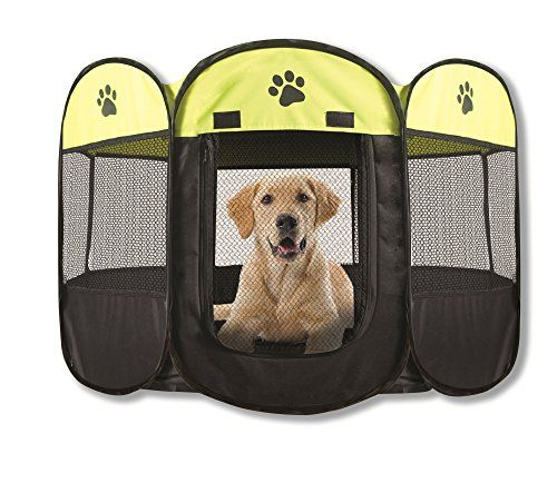 CLICK PICTURE TO PURCHASE!! from http://planetdogz.net/product/unique-petz-portable-playpen-large/  Unique Petz Portable Playpen, Large