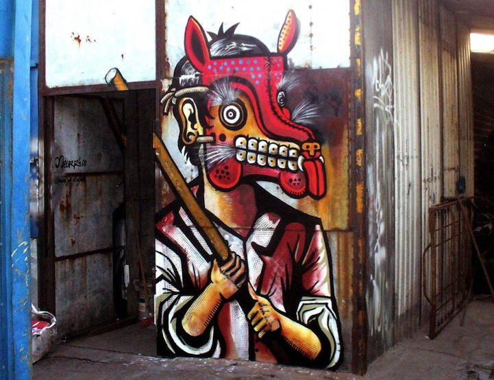 Mexican street art culture