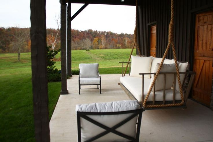 how to build a freestanding porch swing