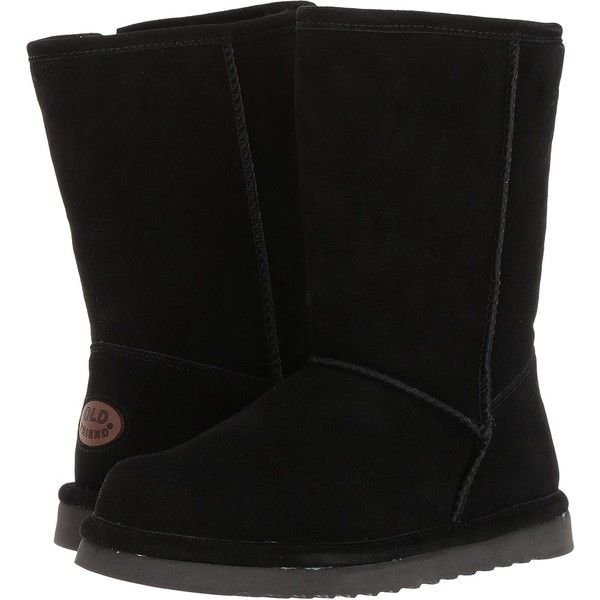 Old Friend Dolly (Black) Women's Slippers ($110) ❤ liked on Polyvore featuring shoes and slippers
