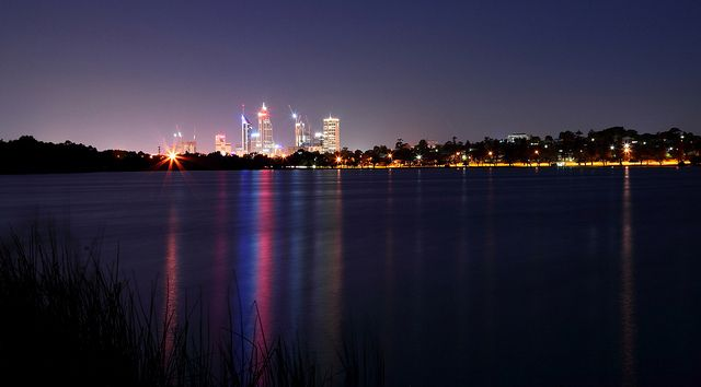 Lake Monger, Perth - City of lights