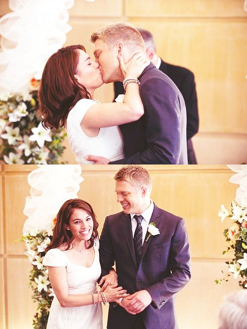 Sam and Jules wedding in Flashpoint Season 5 Episode 12