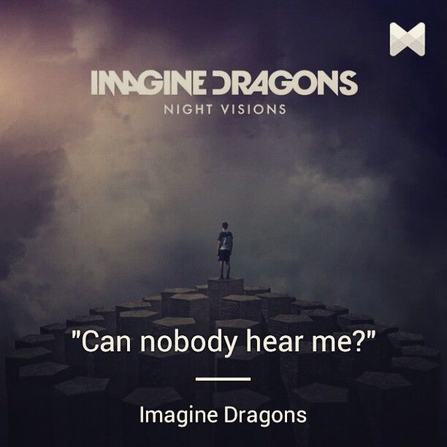 Now playing ♫ Hear Me with #lyrics by Imagine Dragons ...