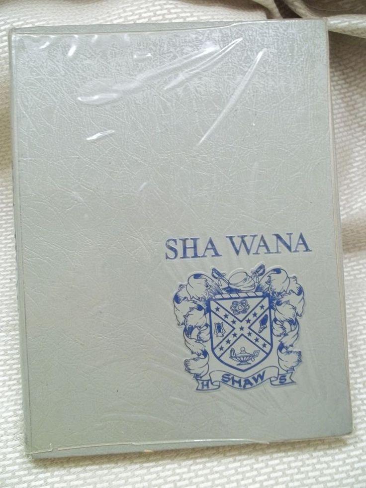 Mobile Alabama Shaw High School Sha Wana Yearbook 1967