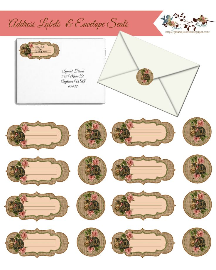 17 best Stickers - Labels images on Pinterest Decals, Sticker - free address labels samples