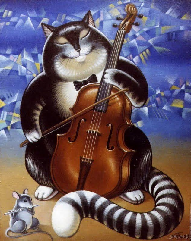 Поющие коты картинки