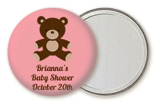 Little things can mean so much and your guests will be over the moon with this cute personalized Teddy Bear baby shower compact mirror favor. Heartwarming memories of your special event will shine through each time your guests use their mirror. If you are looking for a cherished memento of your baby shower, something practical that your guests will use again and again, then these compact mirror favors are it. They dont cost the earth but they will mean so much. These mirror favors are…