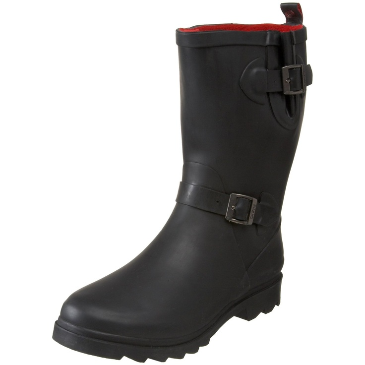 Awesome rain/slush boot that fits my wide feet. comes to mid calf so i dont have to worry about gigantic boots on gigantic calfs