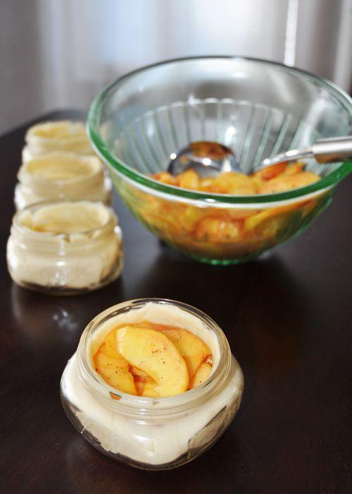 Recipe for Peach Pie in a Jar