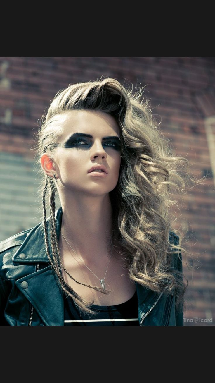 edgy styles for hair best 20 edgy hairstyles ideas on viking 9181