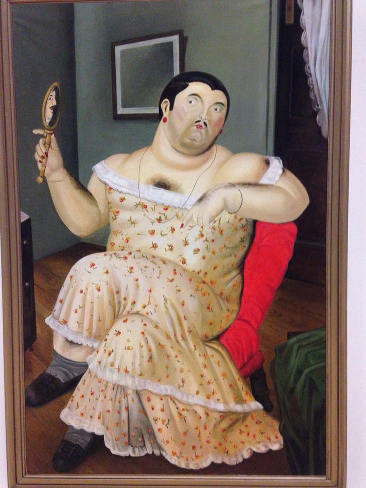 "I painted Fernando Botero's "" Melancholia"""