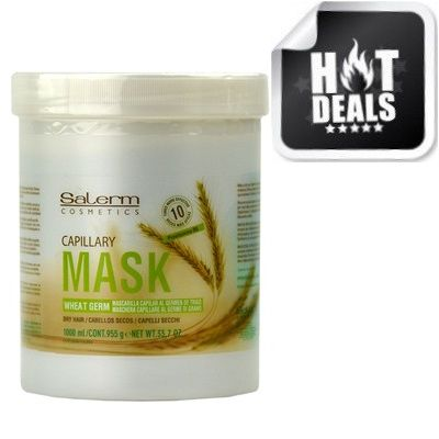 Salerm Mascarilla Wheat Germ Capillary Mask 33.7 oz $29.95   Visit www.BarberSalon.com One stop shopping for Professional Barber Supplies, Salon Supplies, Hair & Wigs, Professional Product. GUARANTEE LOW PRICES!!! #barbersupply #barbersupplies #salonsupply #salonsupplies #Isoplus #Natural #Remedy #Salerm #Mascarilla #Wheat #Germ #Capillary #Mask