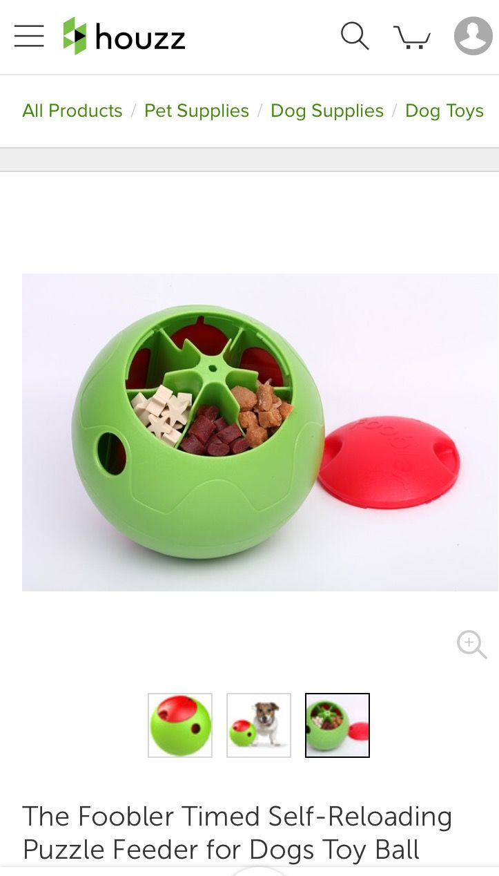 http://www.houzz.com/photos/58159209/The-Foobler-Timed-Self-Reloading-Puzzle-Feeder-for-Dogs-Toy-Ball-traditional-dog-toys