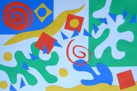 TeachKidsArt: Matisse-Inspired Collage