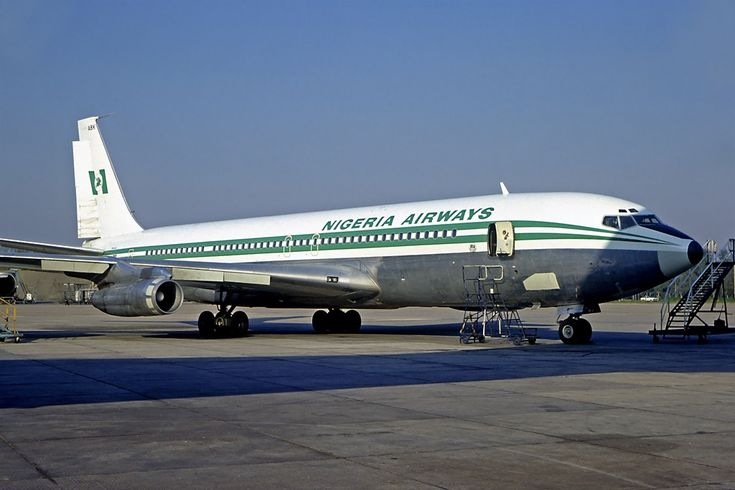 Boeing 707 -3F9C Nigeria Airways in 1978