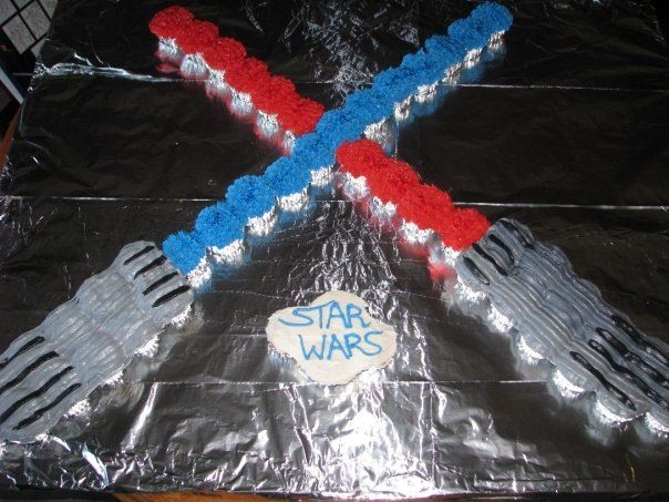 Easy Way To Make Lightsaber Cake