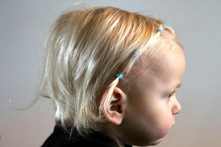 DIY 4 leuke kapsels voor kort haar met  mini elastiekjes - elsa staartje - vlecht - peuter - makkelijk - volgmama #blogfeestje