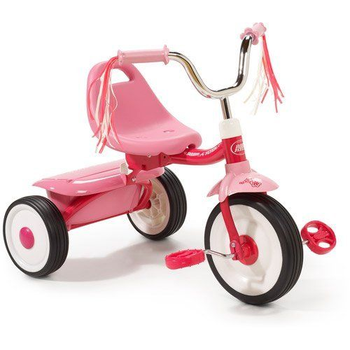 Kids' Tricycles - Radio Flyer Folding Trike Pink ** Check this awesome product by going to the link at the image.