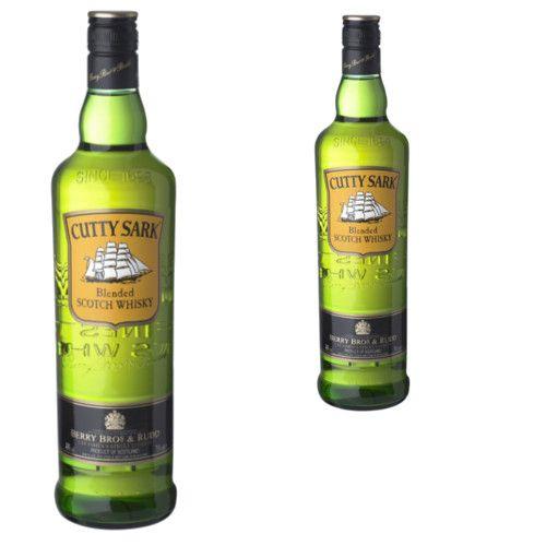 Whisky 40º 1 Litre Cutty Sark - LOT DE 2
