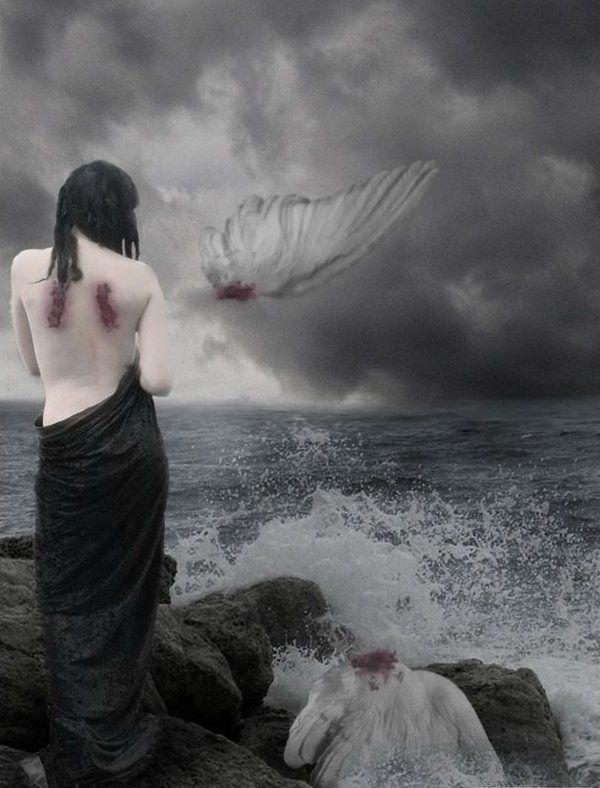 картинка ангела сломаны крылья где трамвая