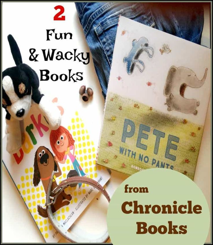 Looking for some fun, bright and even little wacky Book Club books for readers to enjoy at the breakfast table? Check out this Kidlit from Chronicle Books.
