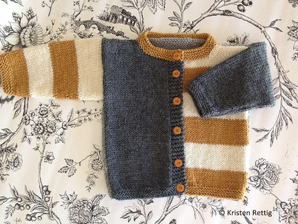 Gingersnap Cardigan -- free pattern