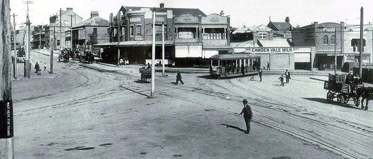 St. Paul's Place..Cleveland and Regent Streets, Redfern. c. 1915