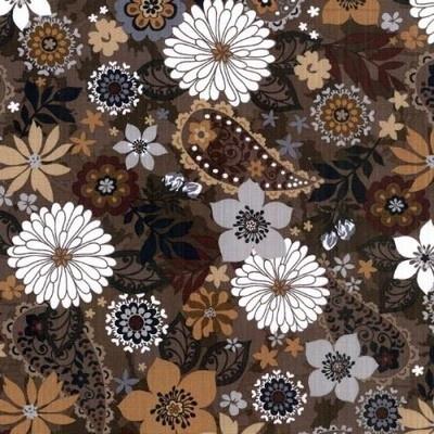 Aus der Kollektion ** Honeyball **  von J.Swafing      Es handelt sich um einen weichen, griffigen gedeckten Baumwollstoff . Bestens geeignet für Patchwork-Quilt - Arbeiten,  Bekleidung, Vorhänge, Gardinen,Lenkertaschen, Kuschel-u.Körnerkissen u. vieles mehr.   Paisley ca 8cm  groß---Blüten bis 6cm      Breite: 112 cm    Zusammensetzung: 100 % Baumwolle    14,40€/m