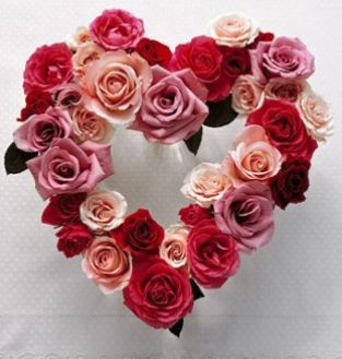 A Valentine Gift For Your Wife Create A Heart Centerpiece