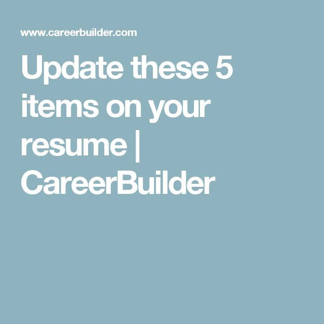 91 best Job Search\/Resume\/Information images on Pinterest Job - careerbuilder resume