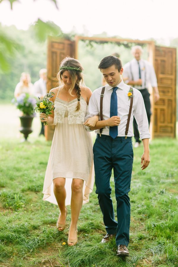 rustic bohemian wedding | Rachel Moore #wedding