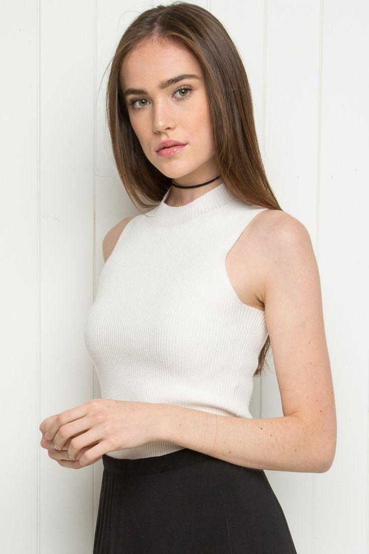 Brandy ♥ Melville   Nathalie Tank - Tops - Clothing