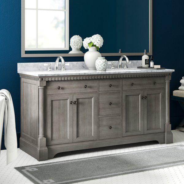 Seadrift 61 Double Bathroom Vanity Set Bathroom Vanity Designs Vanity Design Single Bathroom Vanity