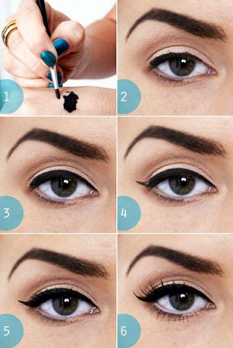 foto come mettere eyeliner - Cerca con Google