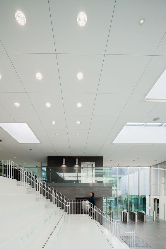 Techstyle Ceiling | Sports & Recreation Park 'De Nekker' in Belgium