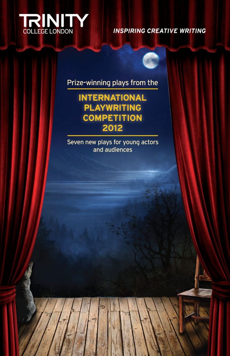 The 2012 prize-winning plays of Trinity's International Playwriting Competition are published!