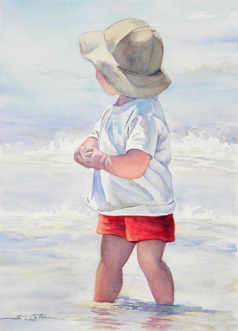 Lil boy watercolors