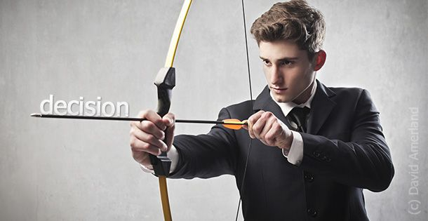 The Zen of Business Decisions and Marksmanship