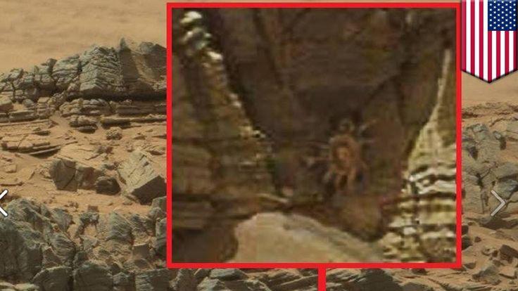 Czy zdjęcia NASA dowodzą życia na Marsie?