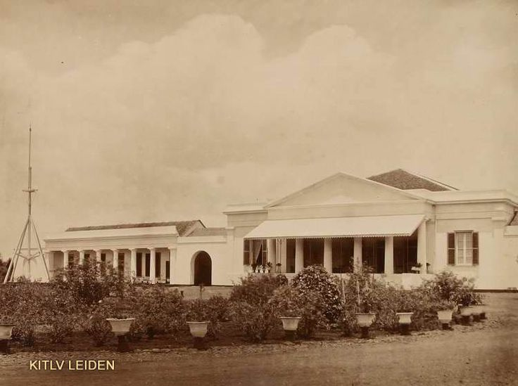 Residentswoning te Bandoeng