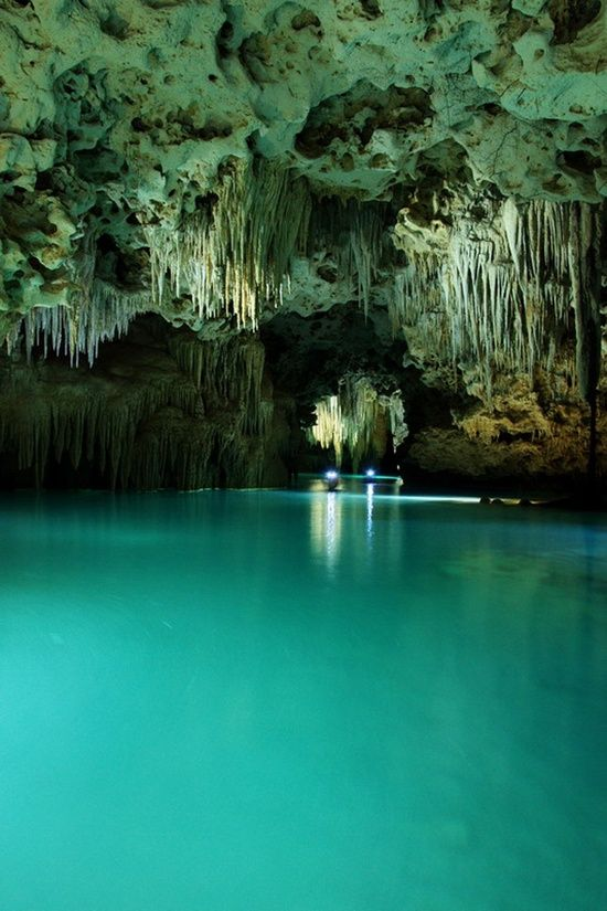 Rio Secreto Underground River near Playa del Carmen ~ Quintana Roo, Yucatán, Mexico