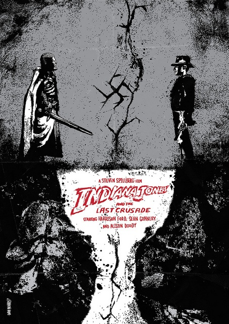 Indiana Jones and the Last Crusade By Daniel Norris - @DanKNorris on Twitter by Daniel Norris, via Flickr