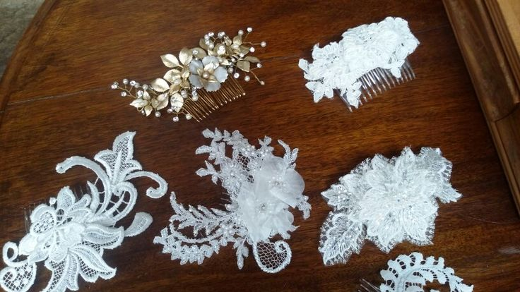 All the pretty maids in a row....Caleche and Stephanie Browne hairpieces